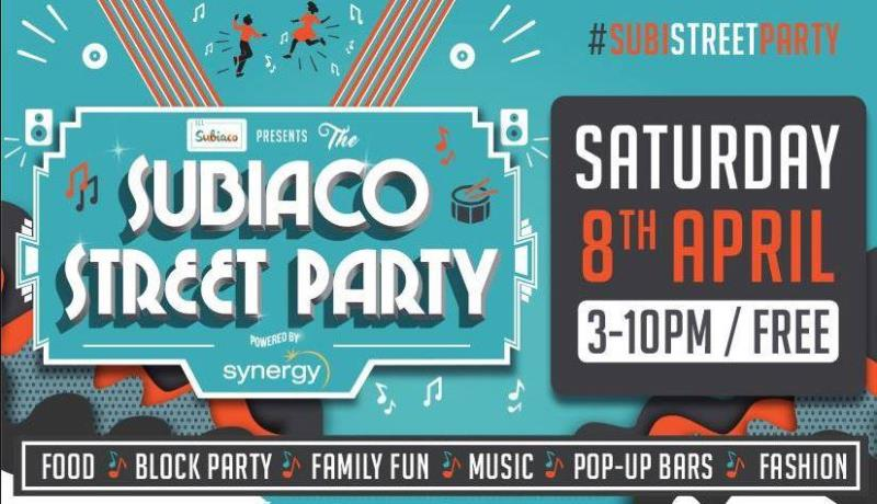 the Subiaco Street Party this April